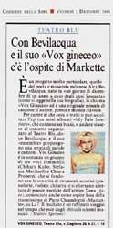 Corriere della Sera (2 dicembre 2005)